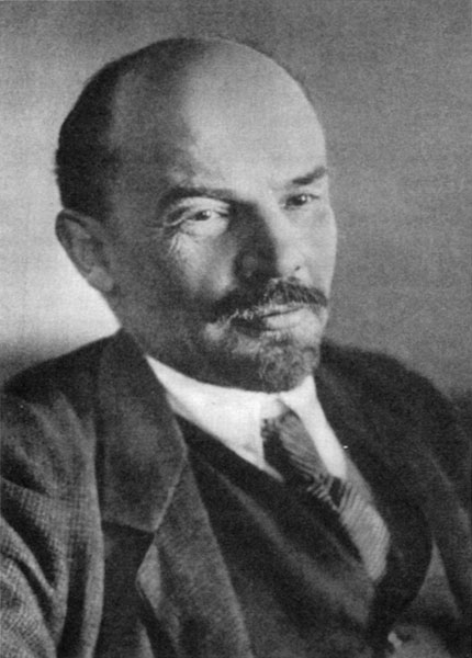 M.S. Nappelbaum's official portrait of Lenin, January 1918. This was the  first such photo taken of him after the seizure of power.