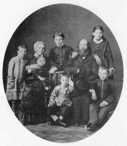 The Ulyanov family in 1879